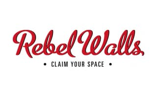 Logotipo de Rebel Walls